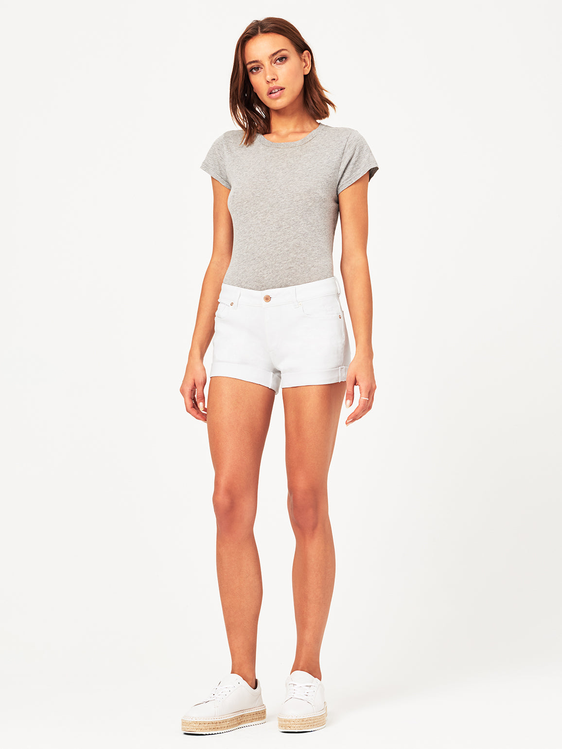 Renee Low Rise Short | Rockaway DL 1961 Denim