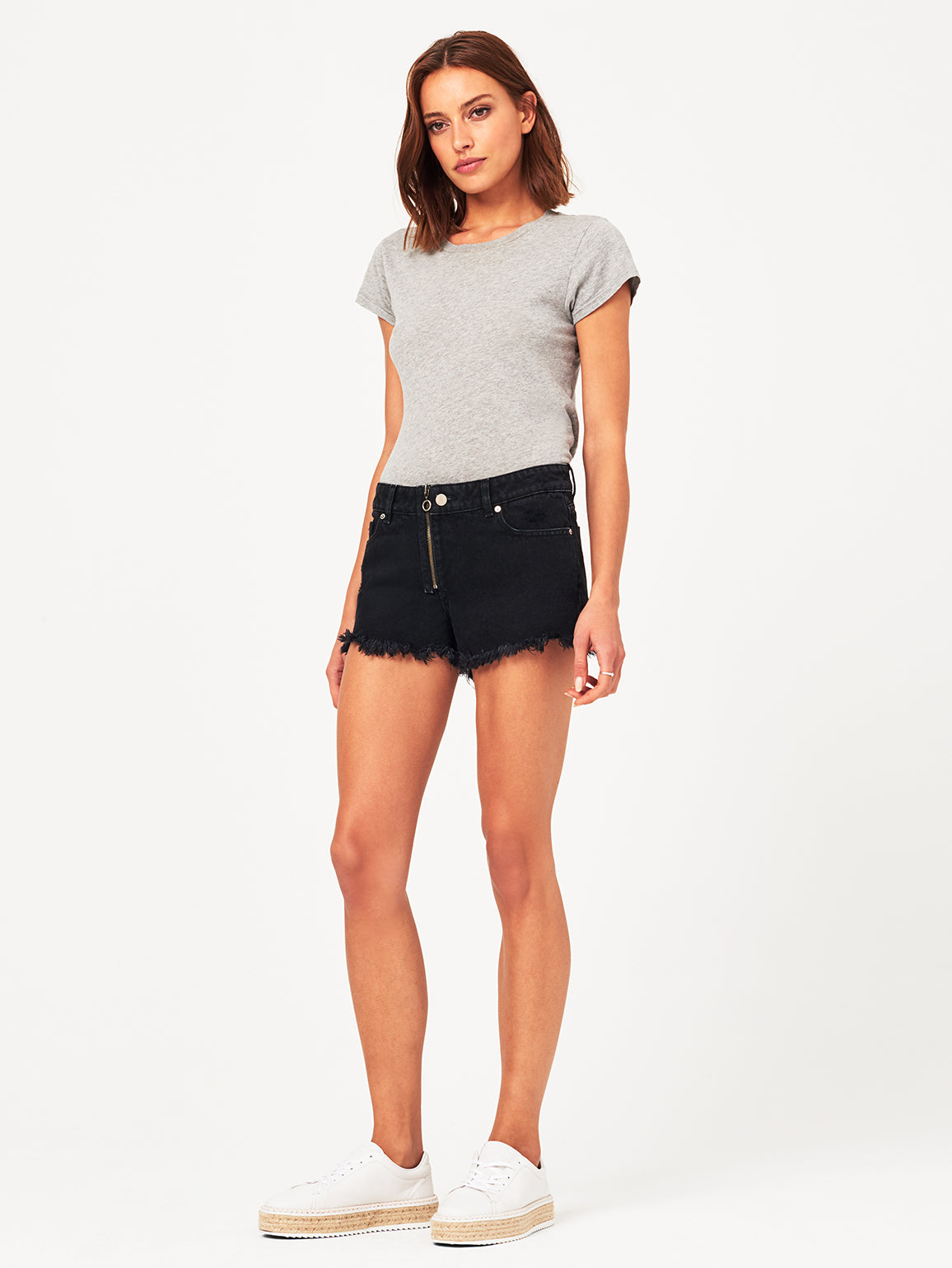 Renee Low Rise Short Blackwood