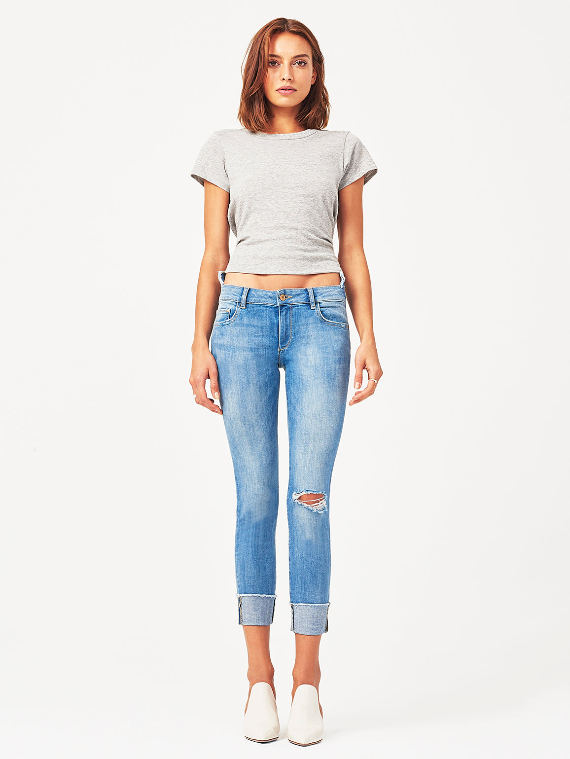 Farrow Ankle High Rise Skinny | Amarillo DL 1961 Denim