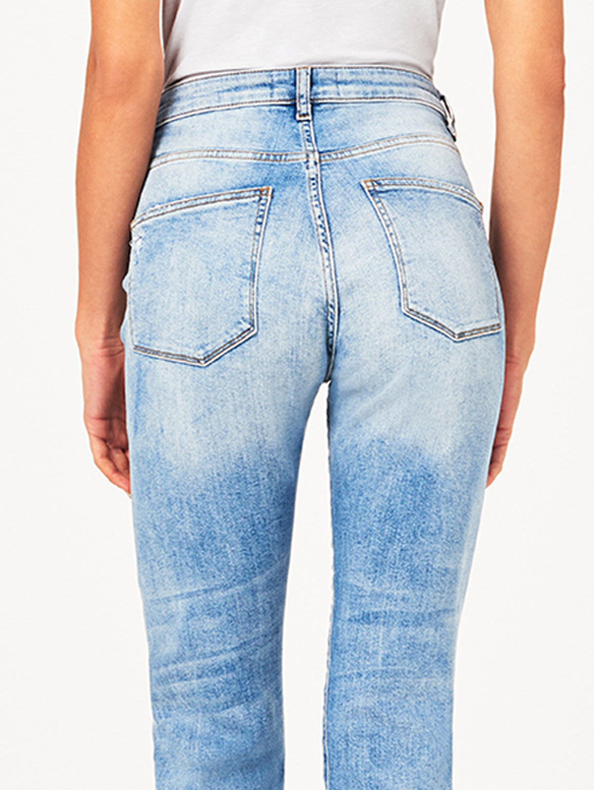 Women - Jerry High Rise Vintage Crop Straight Santos - DL1961