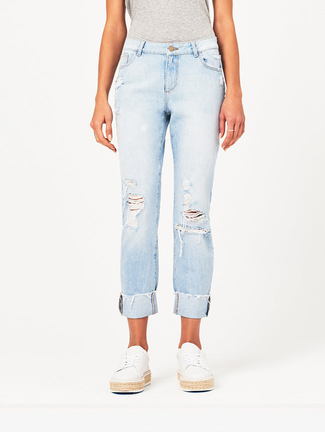 Stevie Mid Rise Slim Boyfriend | Drifter DL 1961 Denim