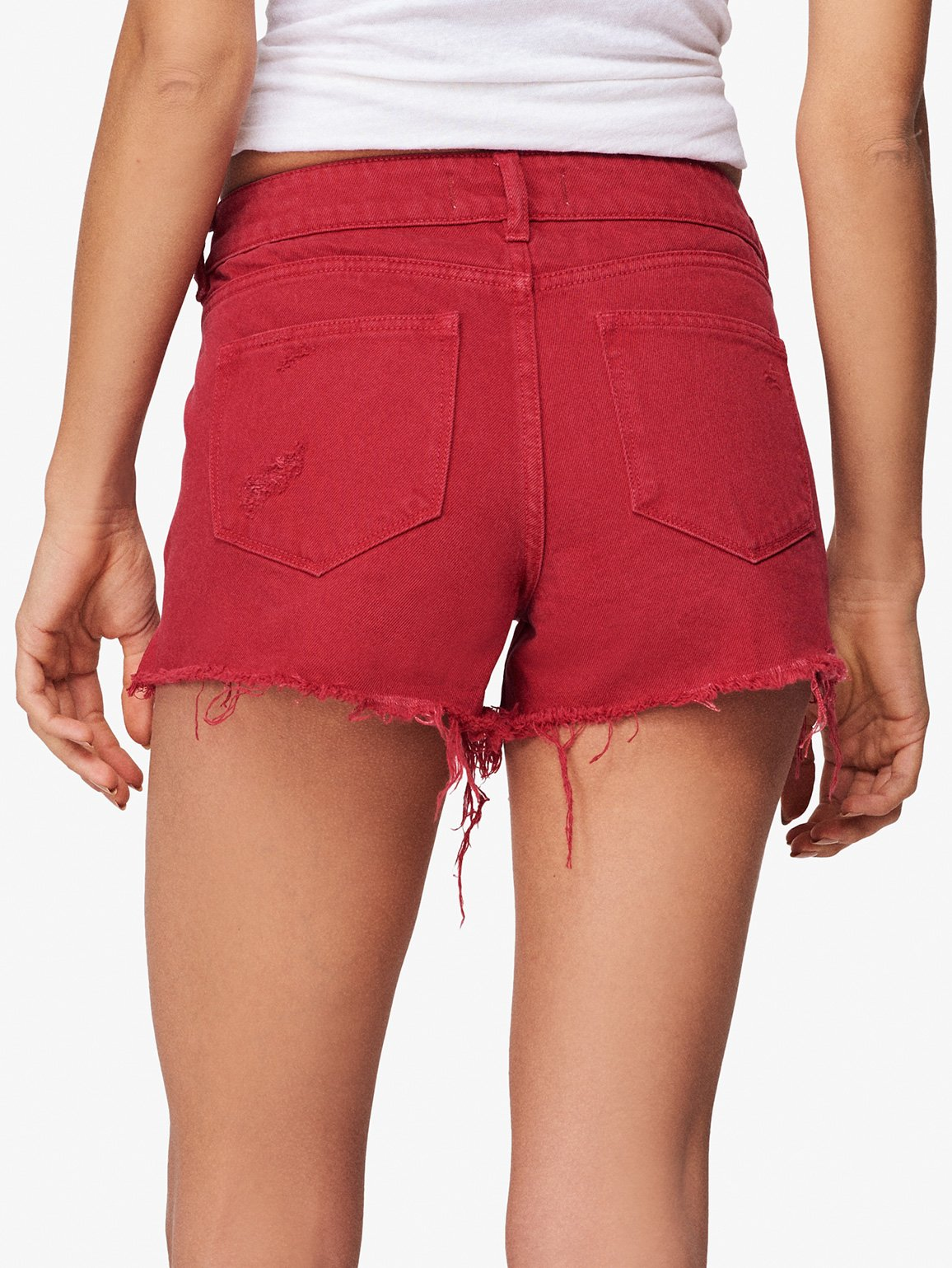 Renee Low Rise Short | Cherry Bomb DL 1961 Denim