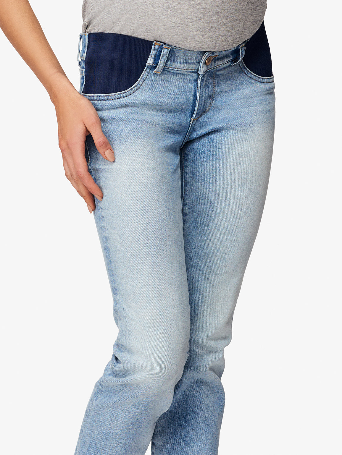 Mara Maternity Straight Ankle | Promenade DL 1961 Denim
