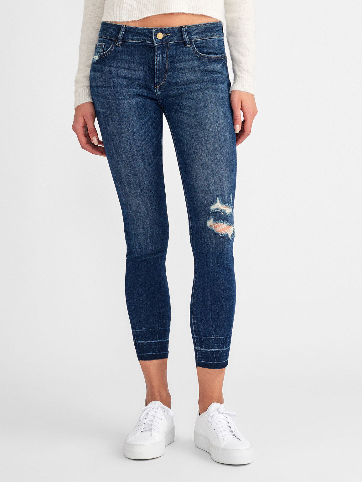 Margaux Mid Rise Ankle Skinny | Shasta