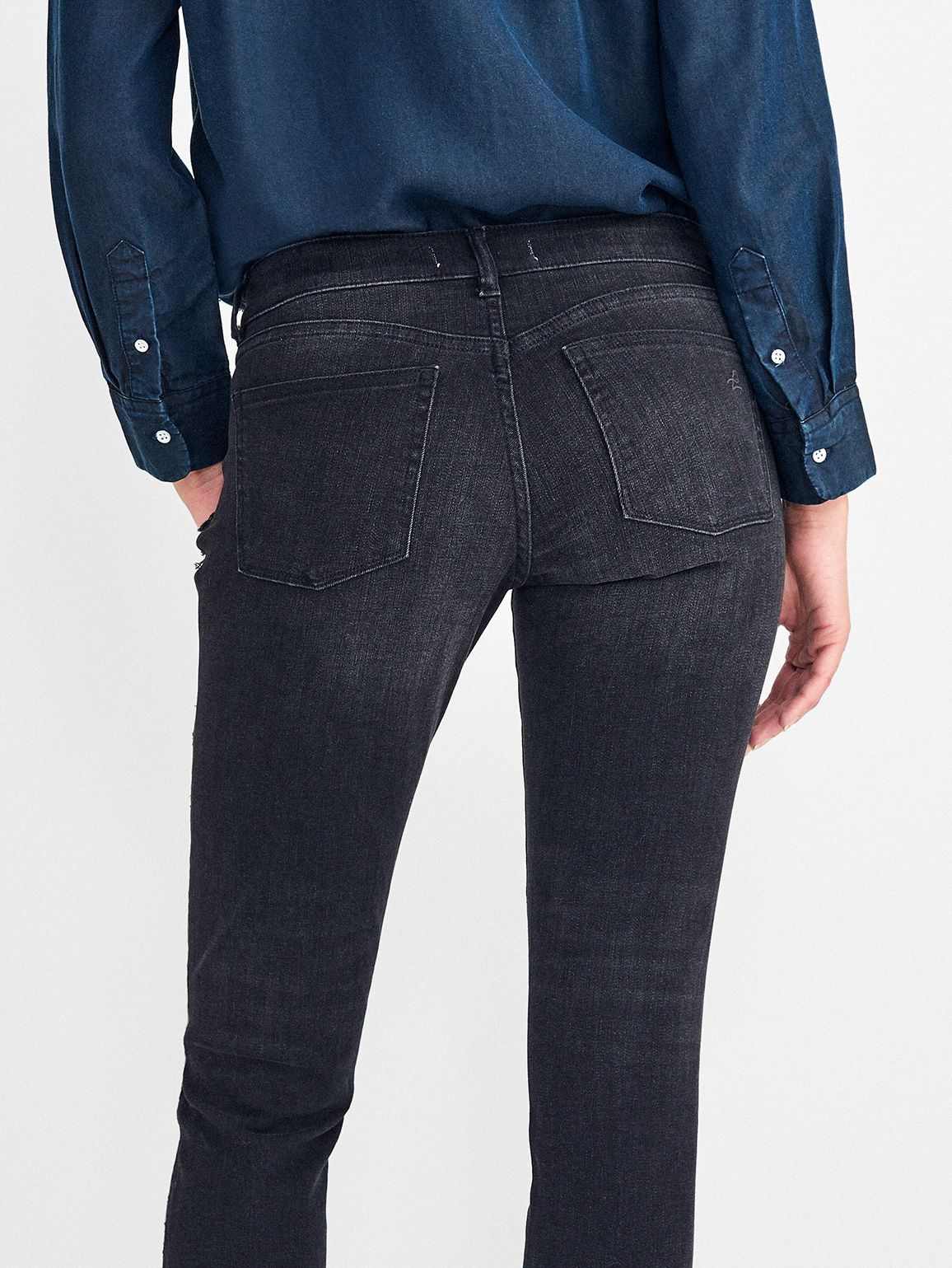 Women - Emma Low Rise Skinny | Nighthawk - DL1961