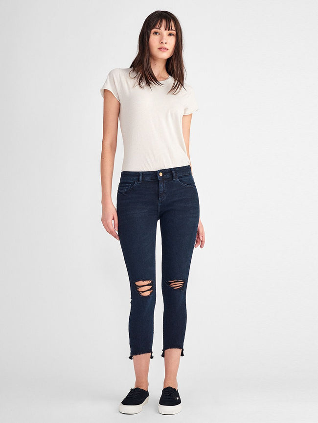 Women - Florence Crop Mid Rise Skinny | Blackstone - DL1961