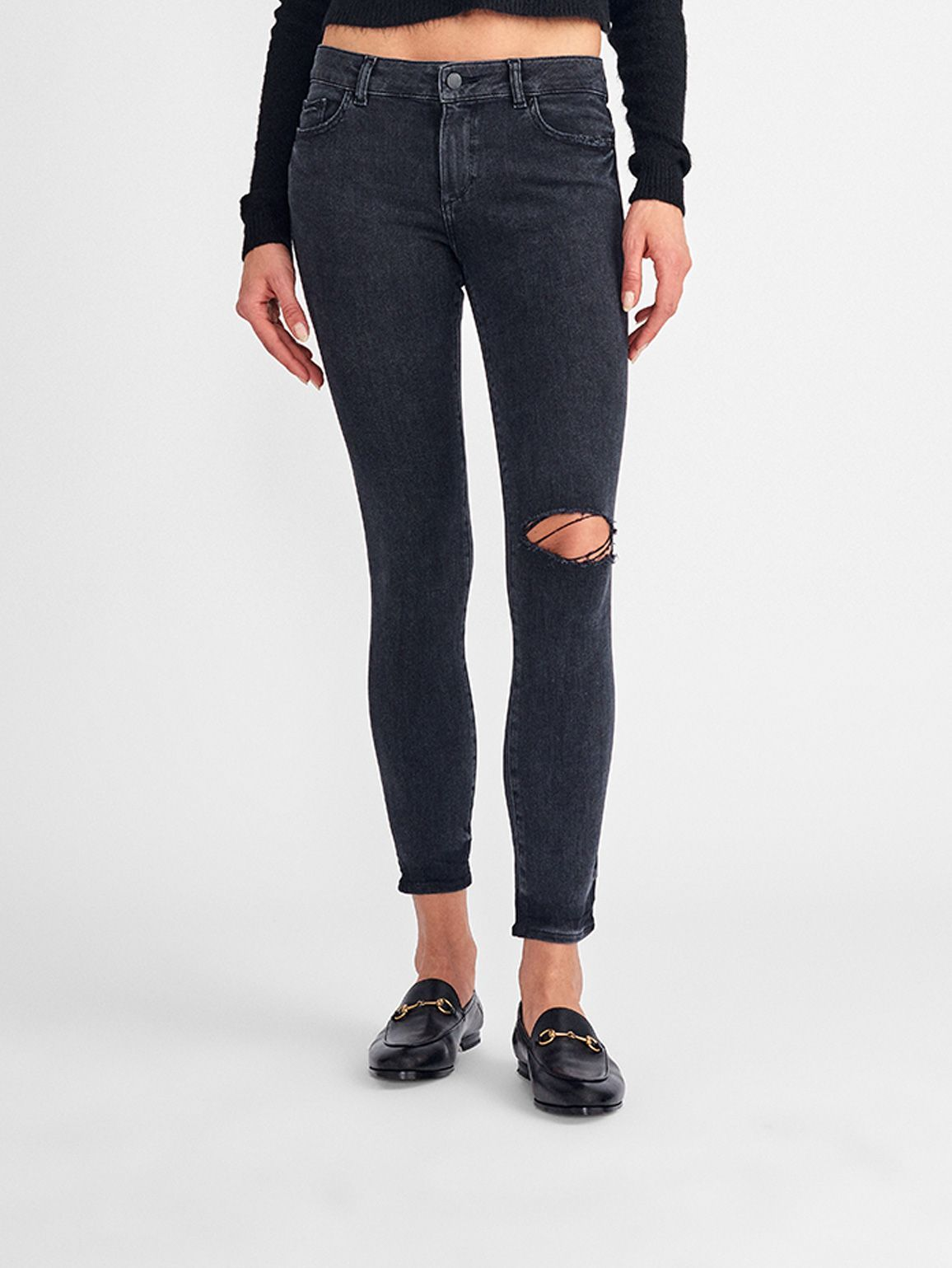 Florence Ankle Mid Rise Ankle Skinny | Hyde