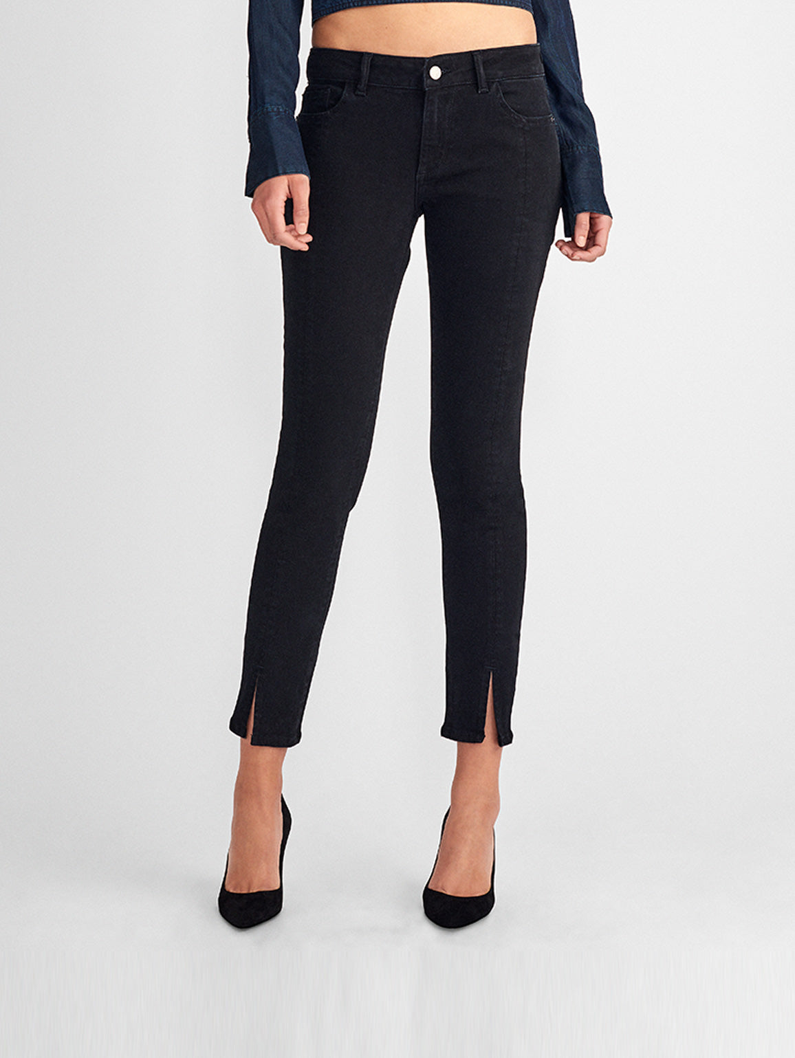 Women - Margaux Mid Rise Ankle Skinny | Banks - DL1961