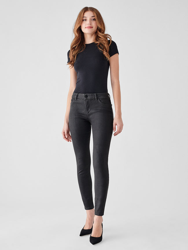 Florence Skinny Mid Rise Instasculpt Ankle | Pewter
