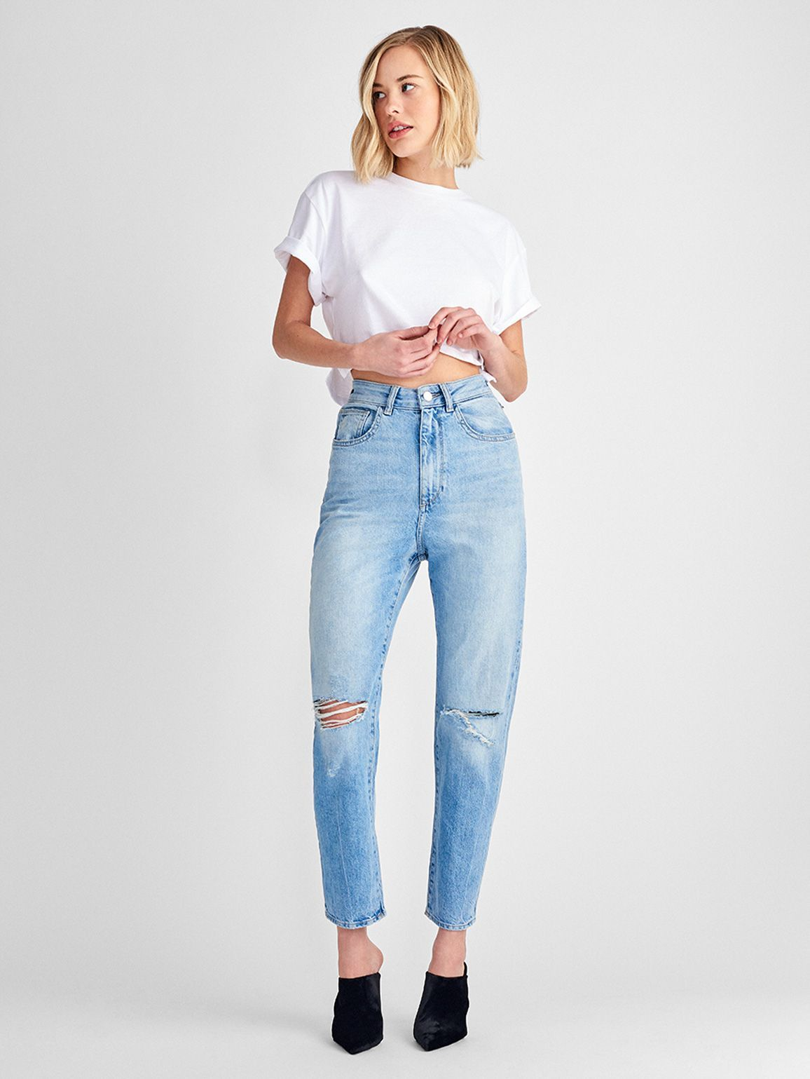 Women - Susie High Rise Tapered Straight | Rowley - DL1961