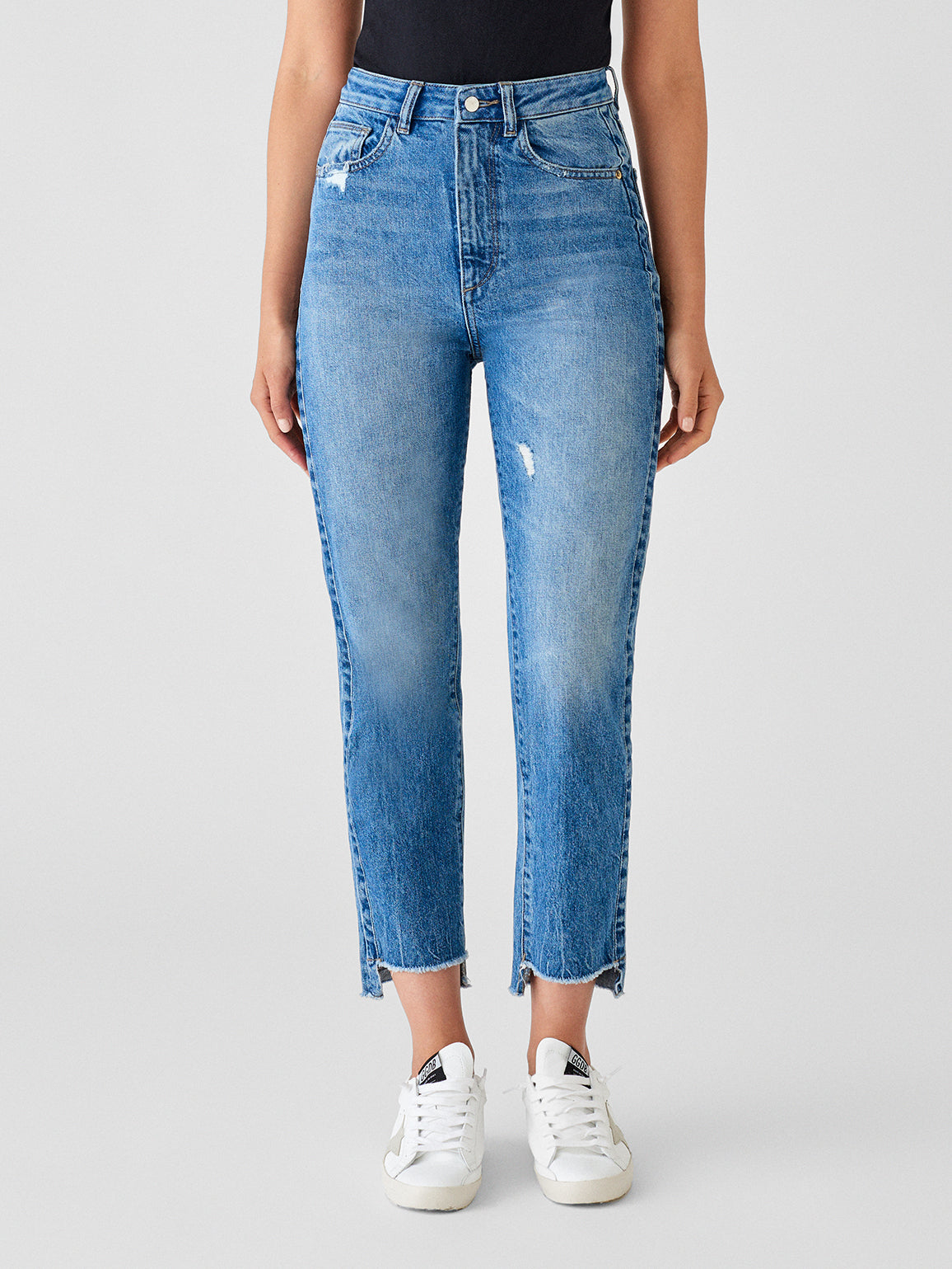Susie High Rise Tapered Straight | Addison