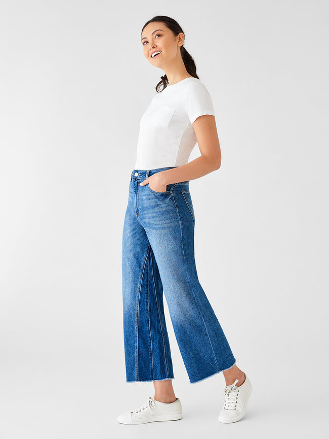 Women - Hepburn High Rise Wide Leg | Ashford - DL1961