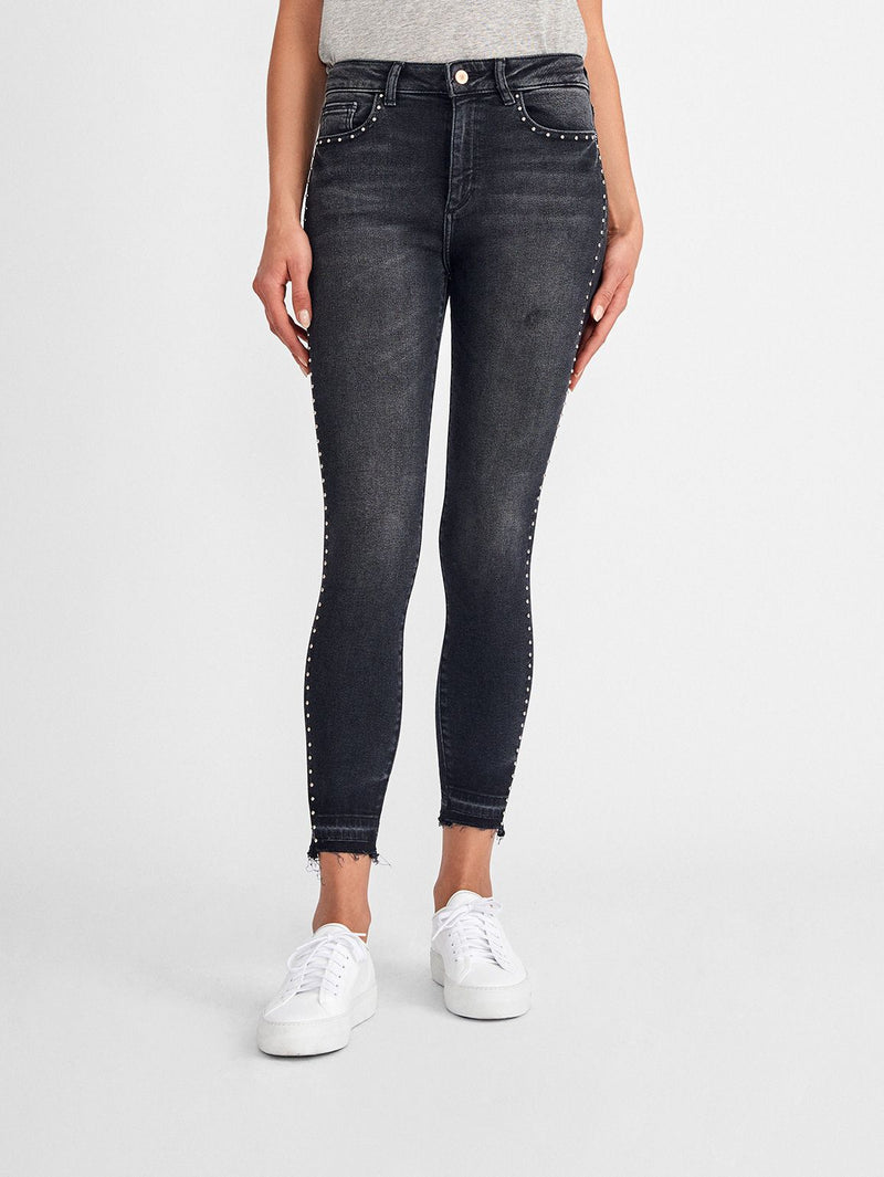 Farrow Ankle High Rise Skinny | Hail