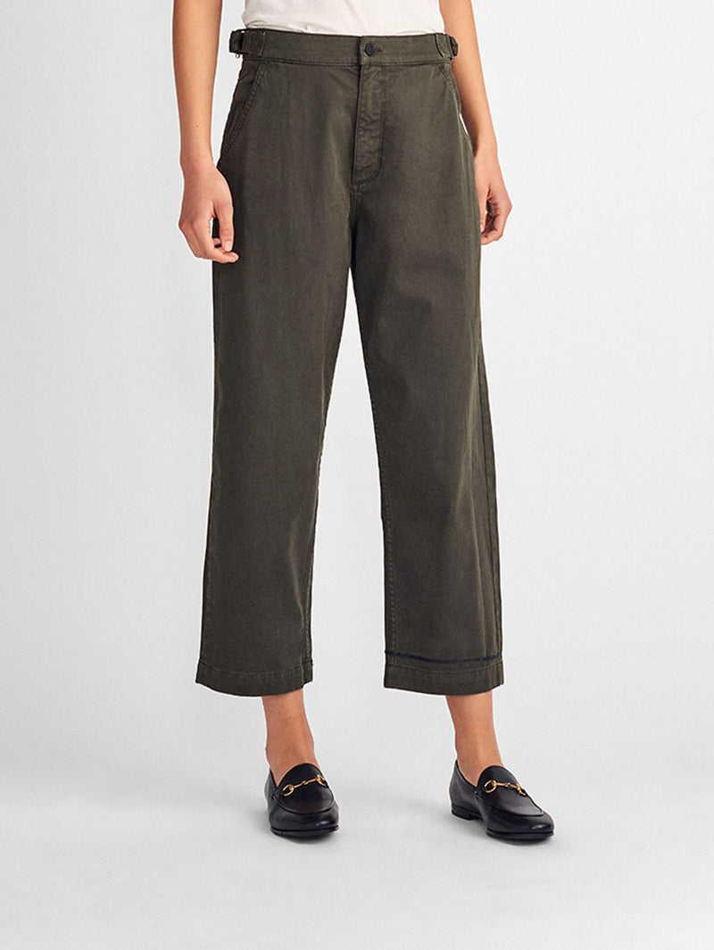 Farrow Ankle High Rise Corduroy Skinny | Birch Lake