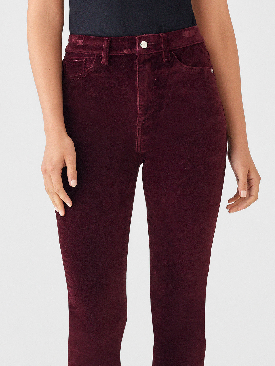 Women - Chrissy Ultra High Rise Velvet Skinny | Manor - DL1961