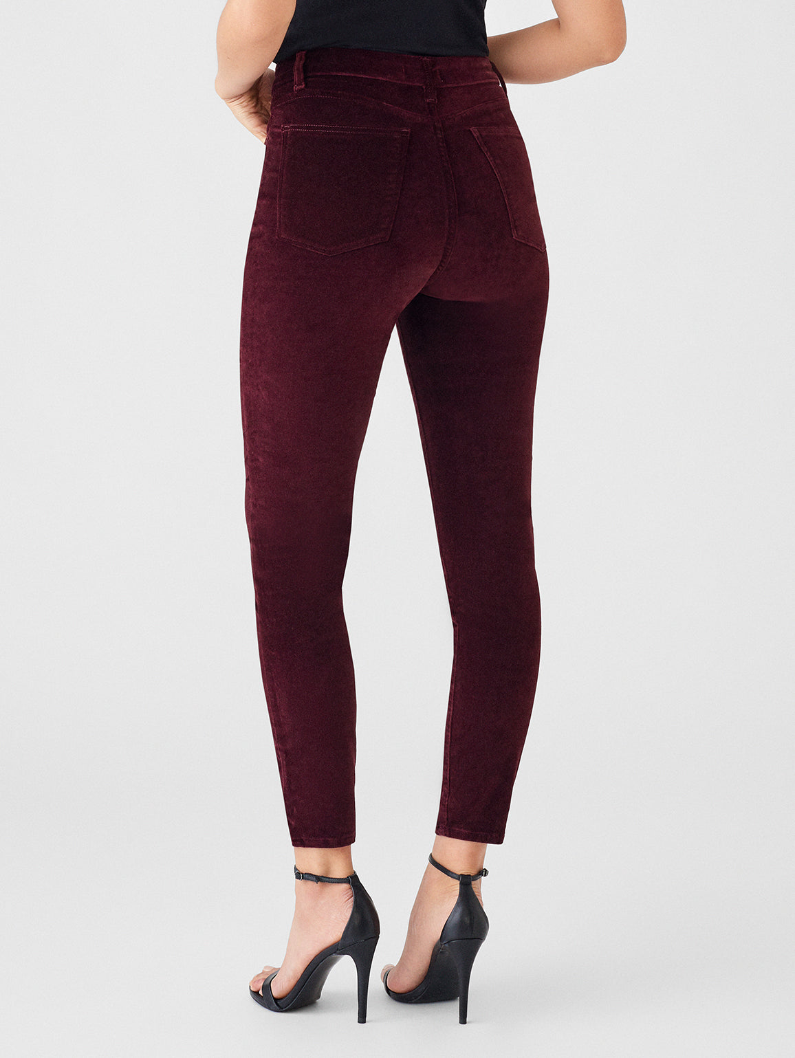 Chrissy Ultra High Rise Velvet Skinny | Manor - DL1961