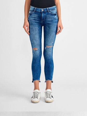 Margaux Mid Rise Ankle Skinny | Fresno