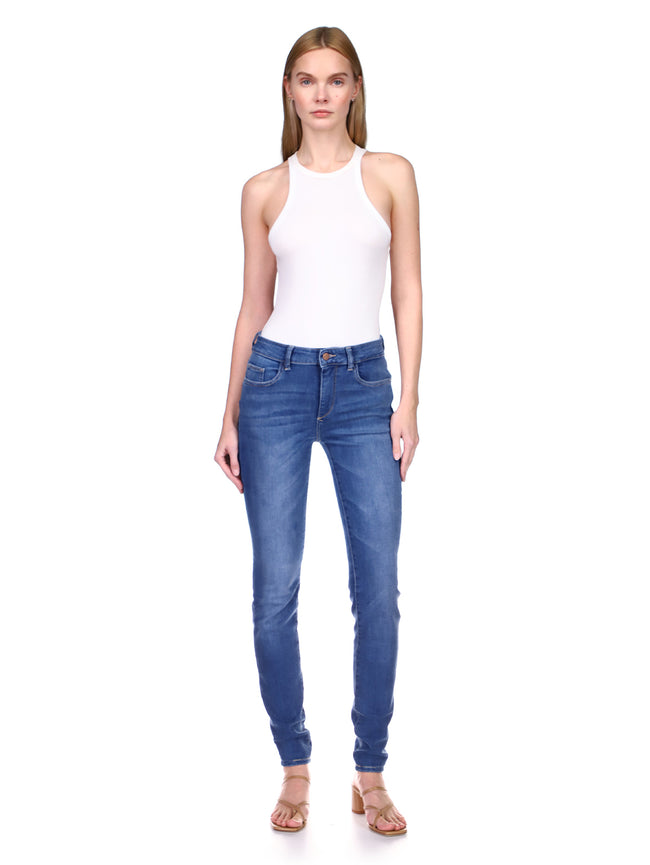 Florence Skinny Mid Rise Instasculpt 34"
