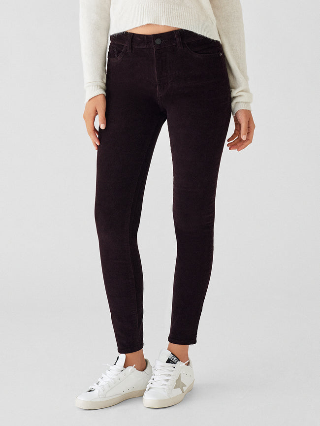Women - Farrow Ankle High Rise Corduroy Skinny | Birch Lake - DL1961