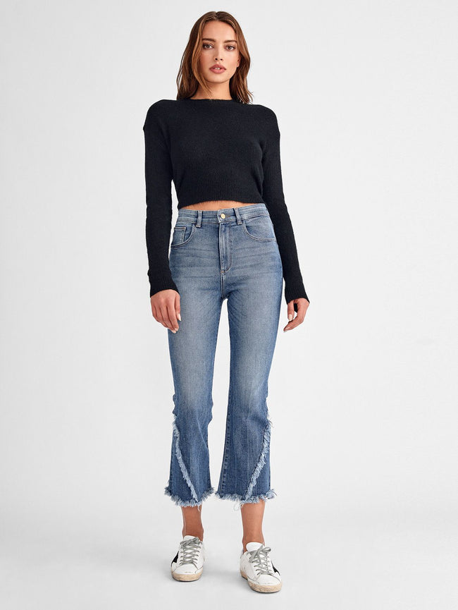 Women - Wallace High Rise Vintage Crop Flare | Briggs - DL1961