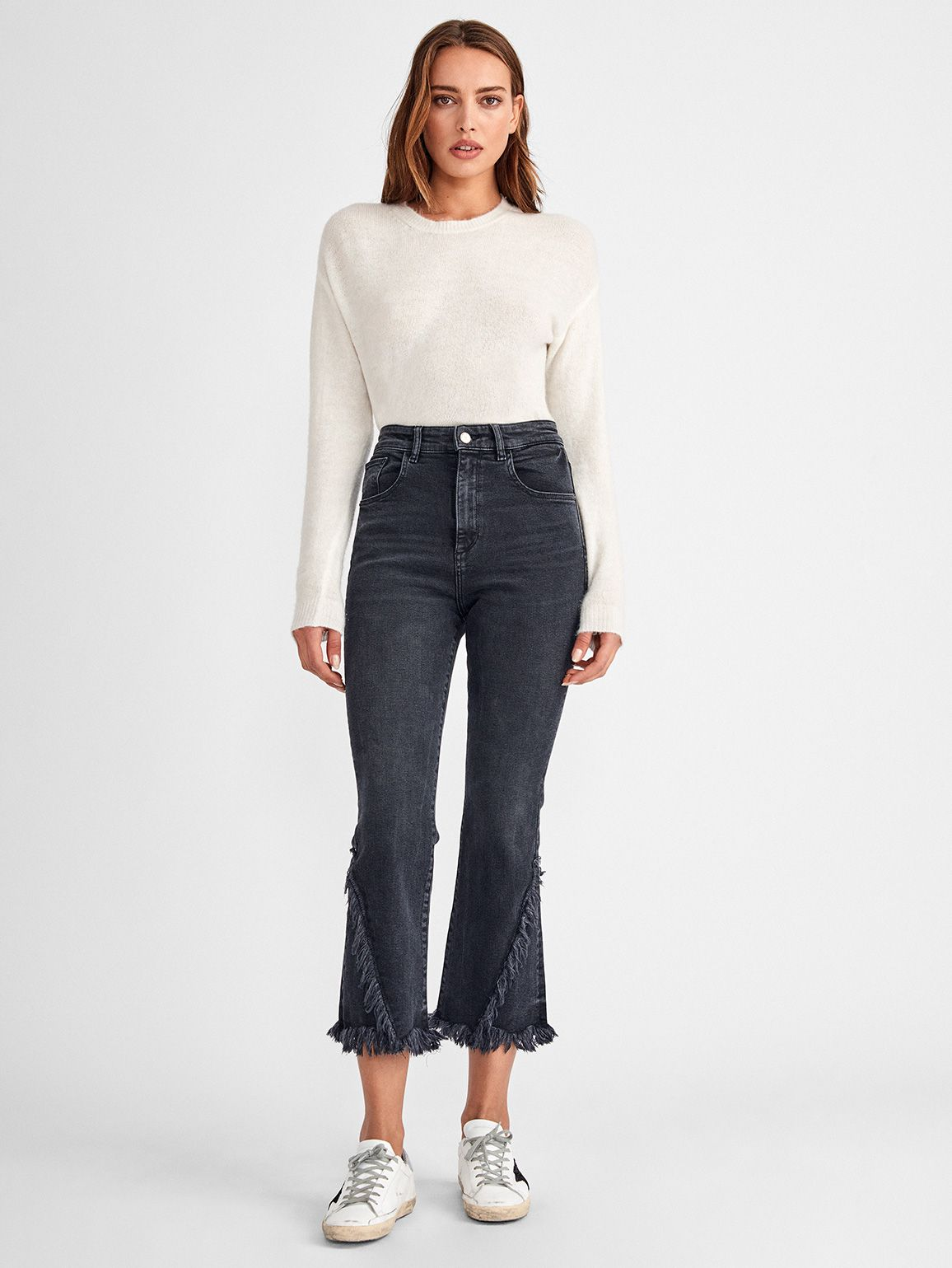 Women - Wallace High Rise Vintage Crop Flare | Booth - DL1961