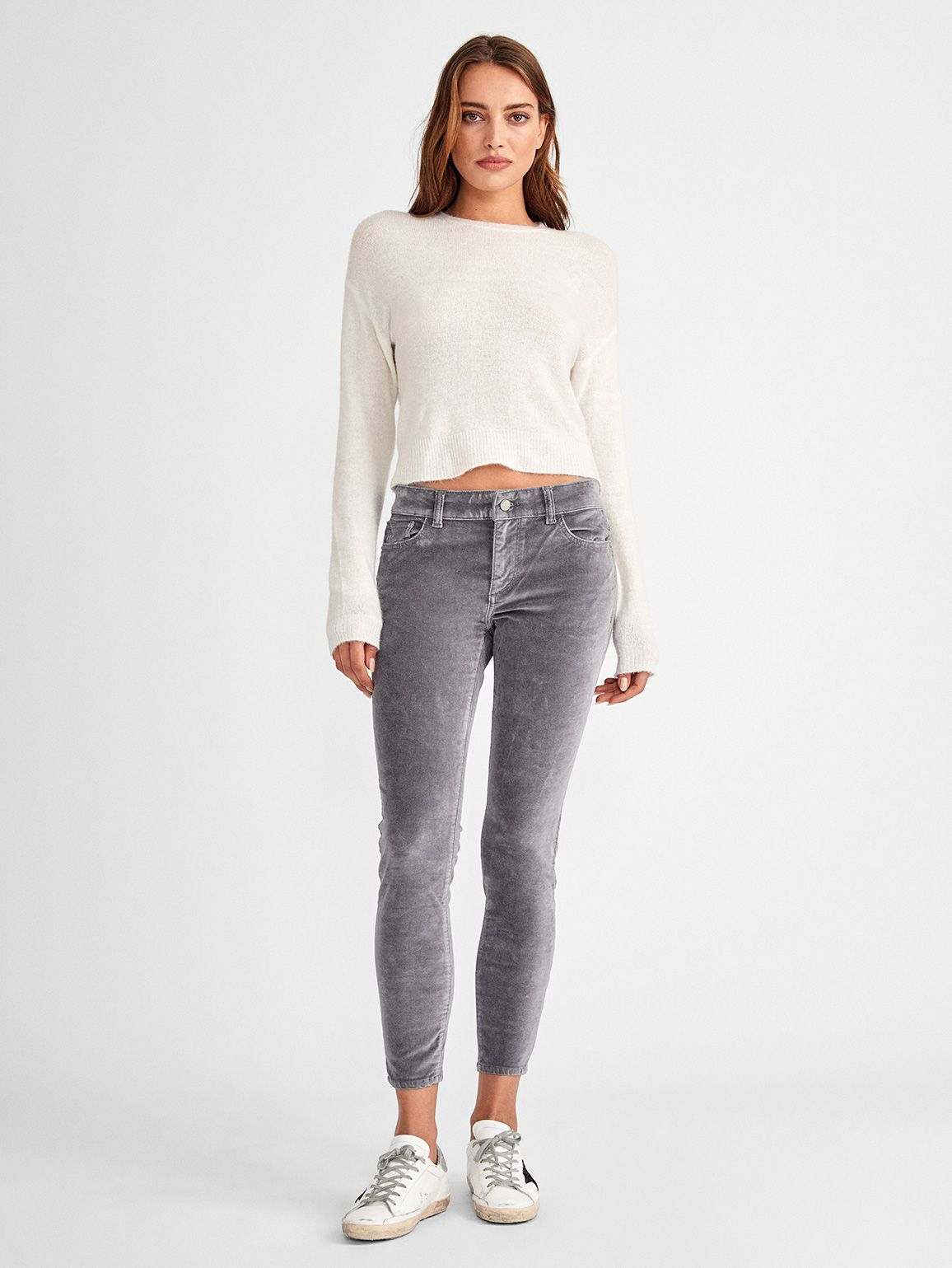 Women - Florence Ankle Mid Rise Skinny | Silver Spring - DL1961