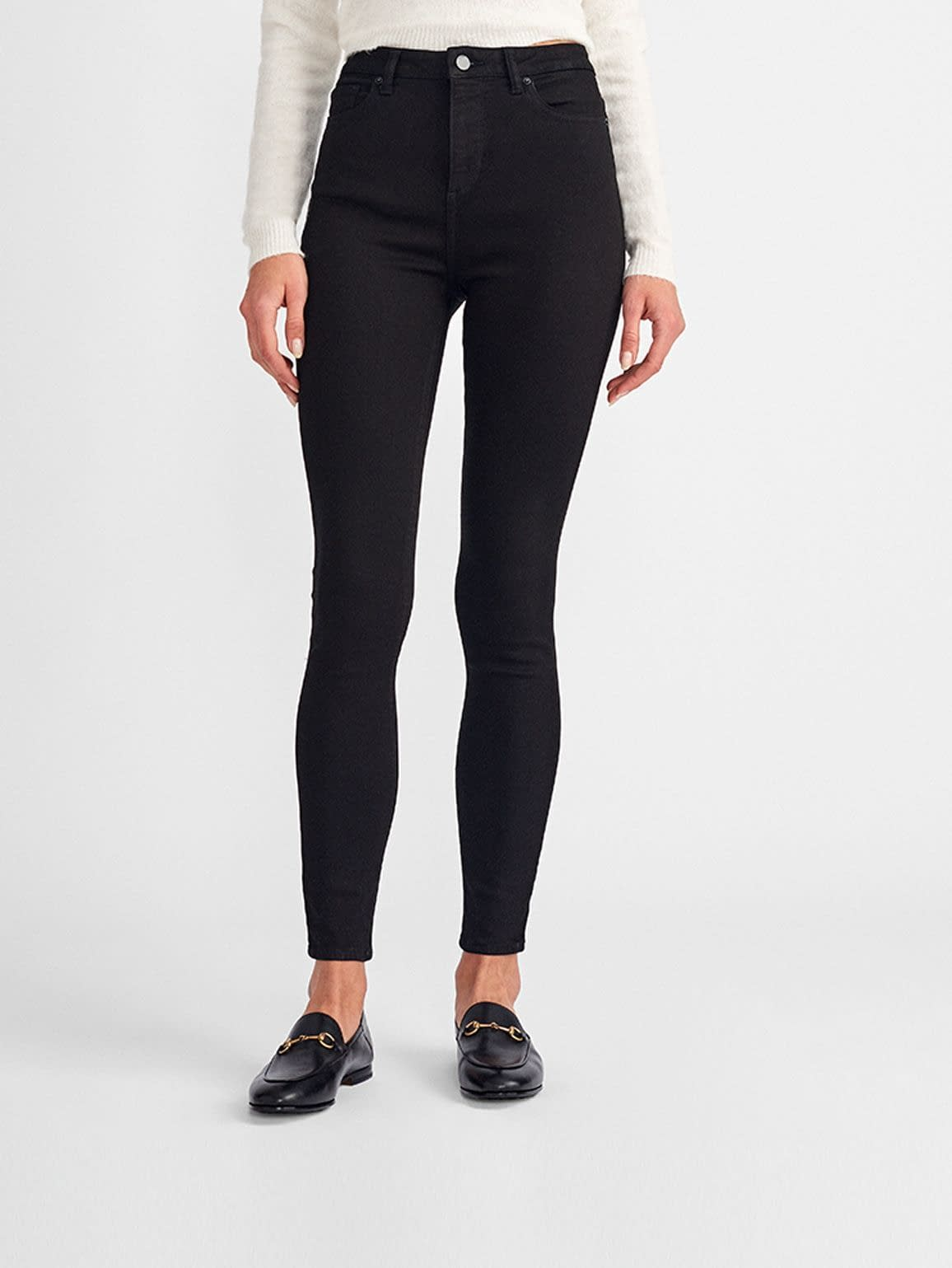 Chrissy Ultra High Rise Skinny | Hail - DL1961
