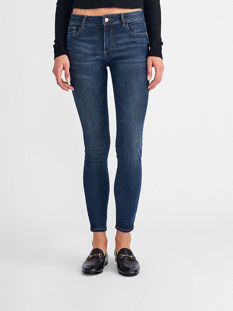 Florence Ankle Mid Rise Skinny | Bellevue