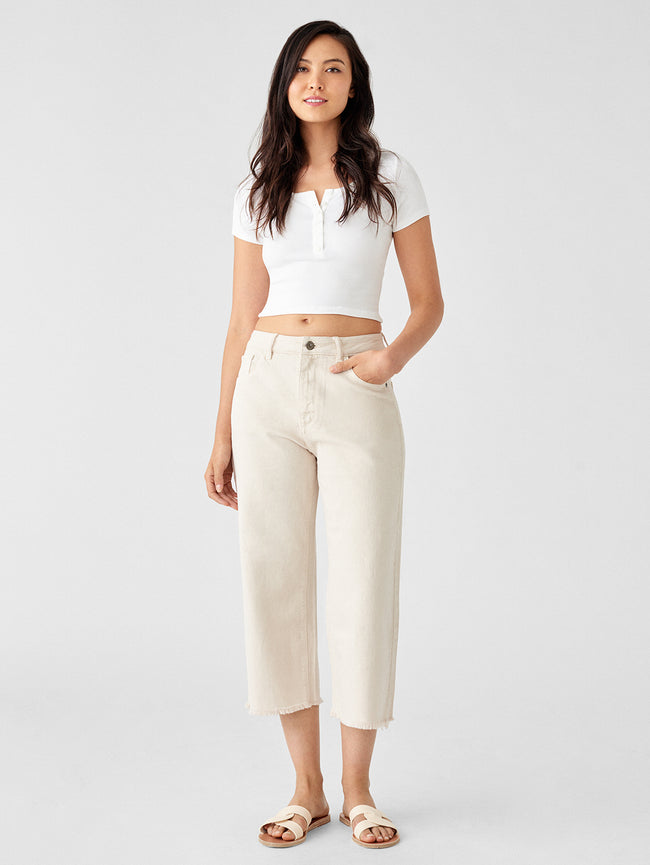 Women - Hepburn Crop High Rise Wide Leg | Tulum - DL1961