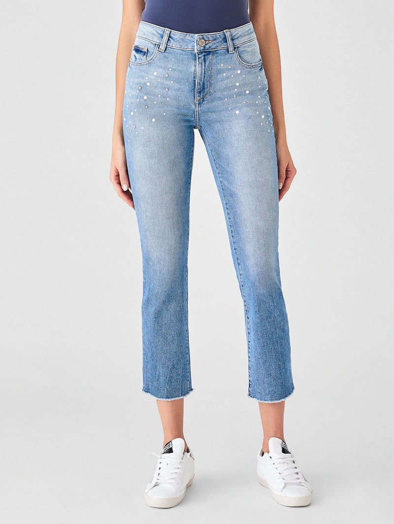 Jerry High Rise Vintage Straight | Marfa