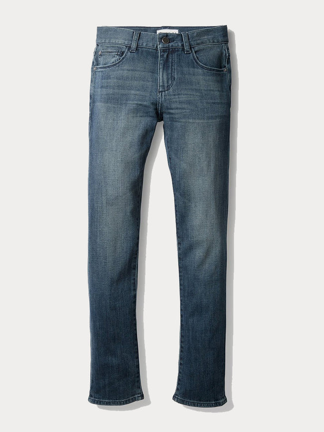 Boys - Faded Blue Denim - Hawke/B Skinny Scabbard - DL1961