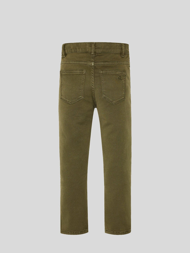 Boys - Safari Green Slim Denim - Brady/B Slim Squad - DL1961