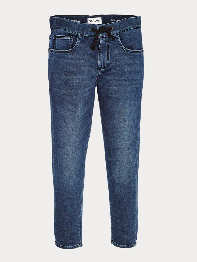 Boys - Drawstring Denim - William/B Track Chino Reserve - DL1961