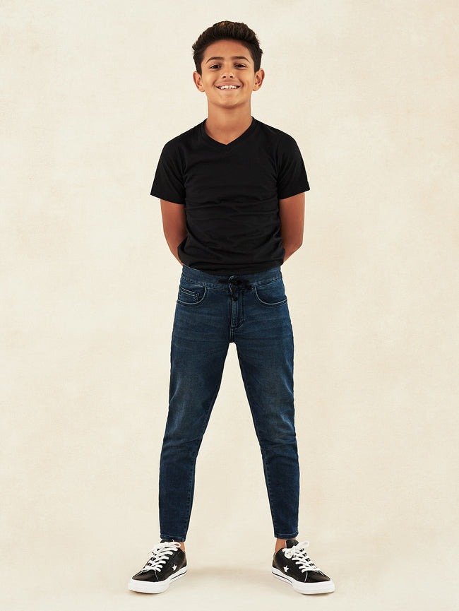 Boys - Slim Fit Denim - Drawstring - William/B Track Chino Reserve - DL1961