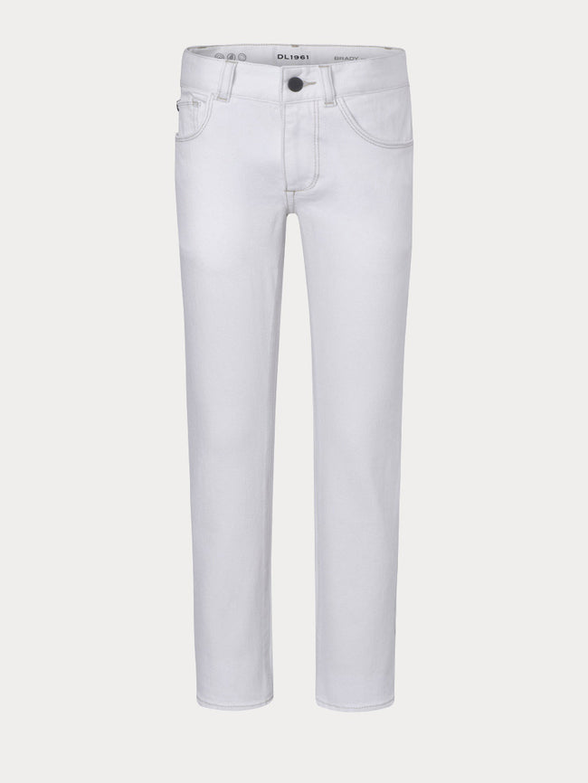 Boys - White Slim Denim - Brady/B Slim Scribble - DL1961