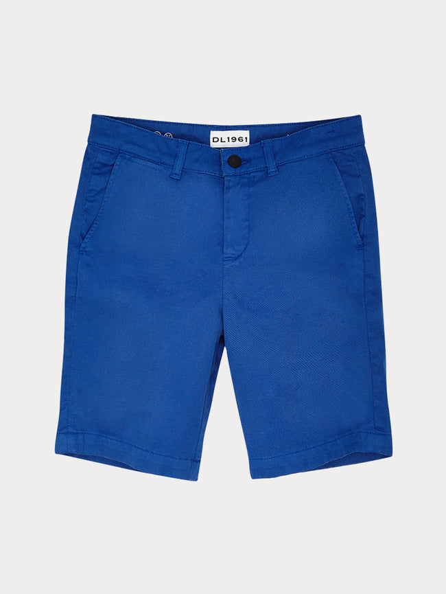 Boys - Blue Chino Shorts - Jacob/B Chino Short Prince - DL1961