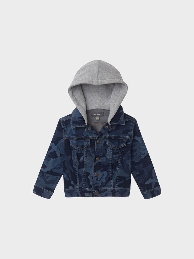 Manning Jacket | Cryptic Blue