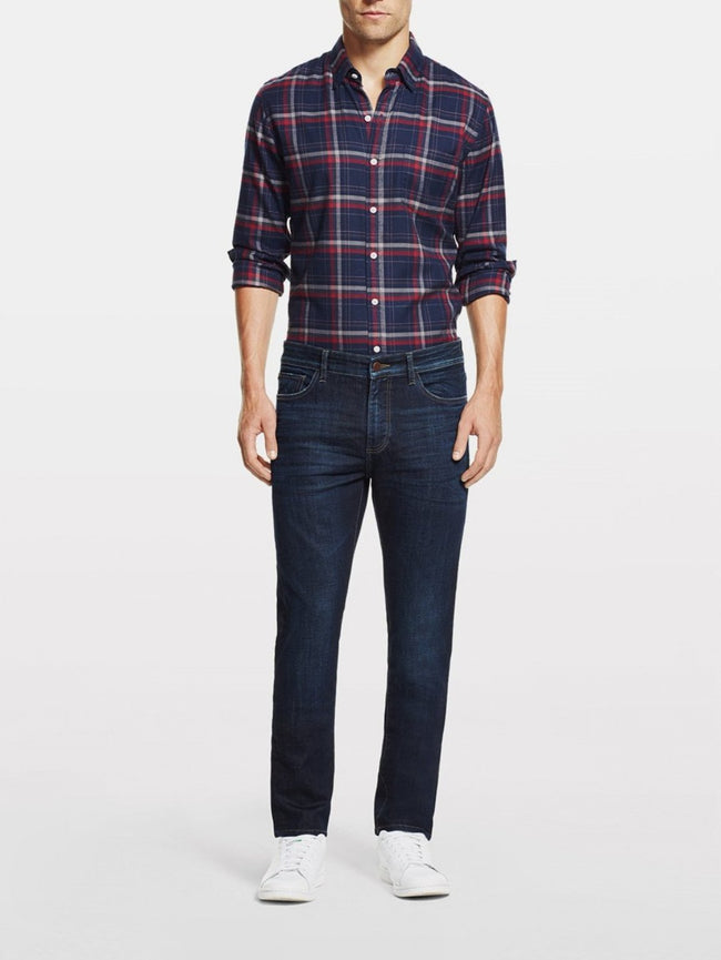 Men - Dark Blue Slim Denim - Cooper Relaxed Skinny Ridge - DL1961