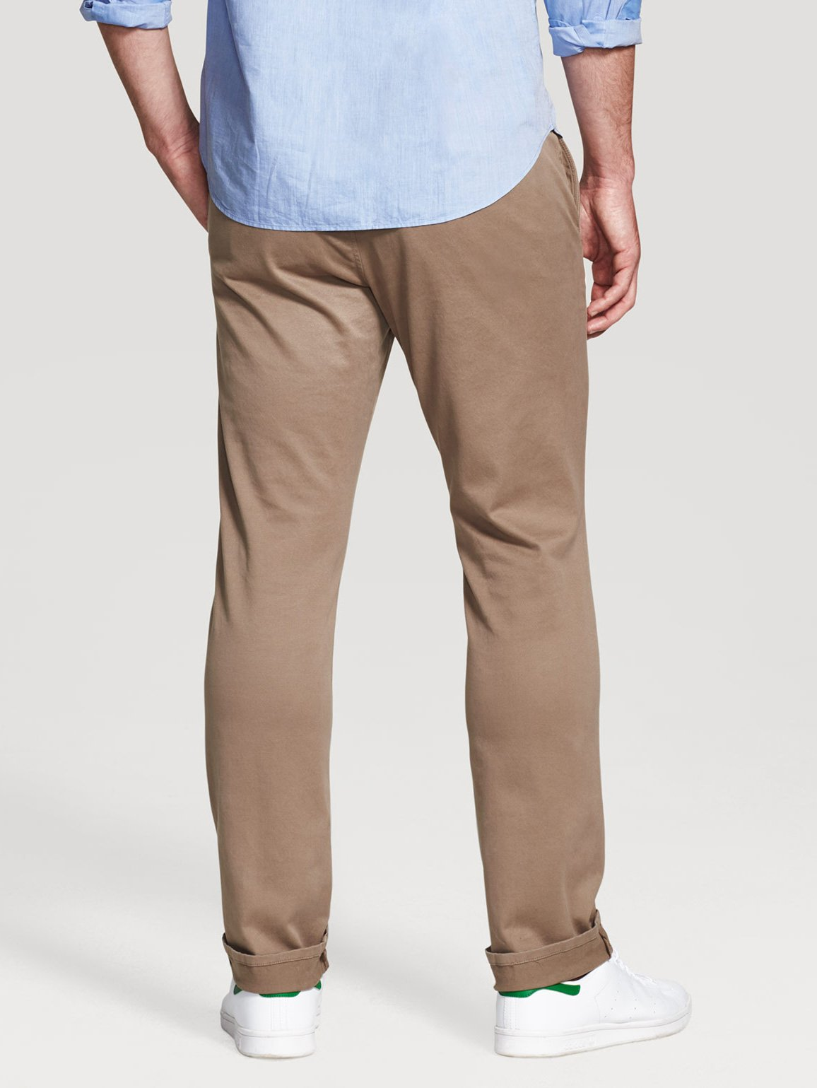 Men - Jimmy Chino Trouser Sandalwood - DL1961