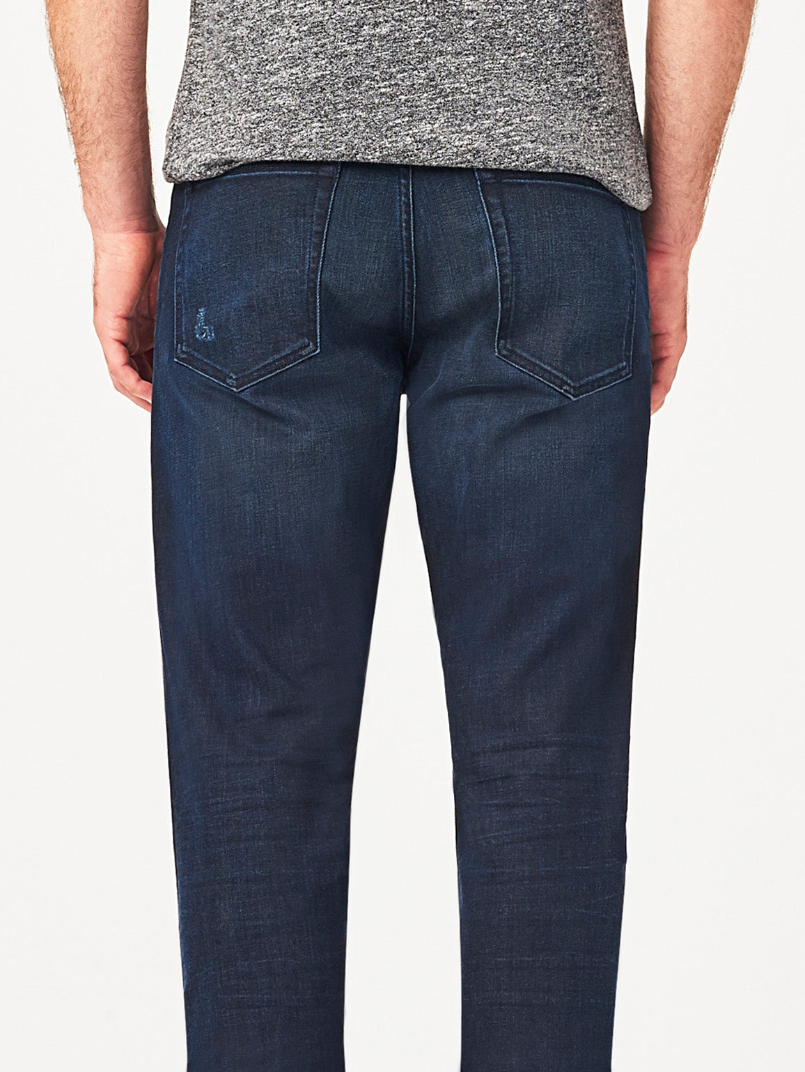 Men - Straight Dark Blue Denim - Avery Straight Sepia - Dl1961