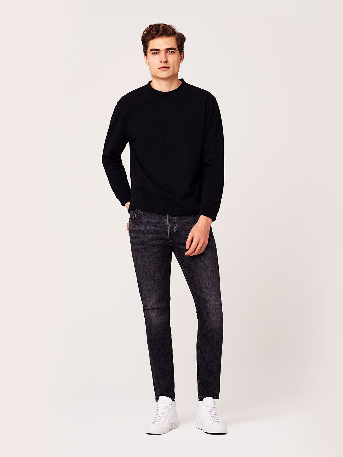 Image of Cooper Relaxed Skinny / Smoke Grey