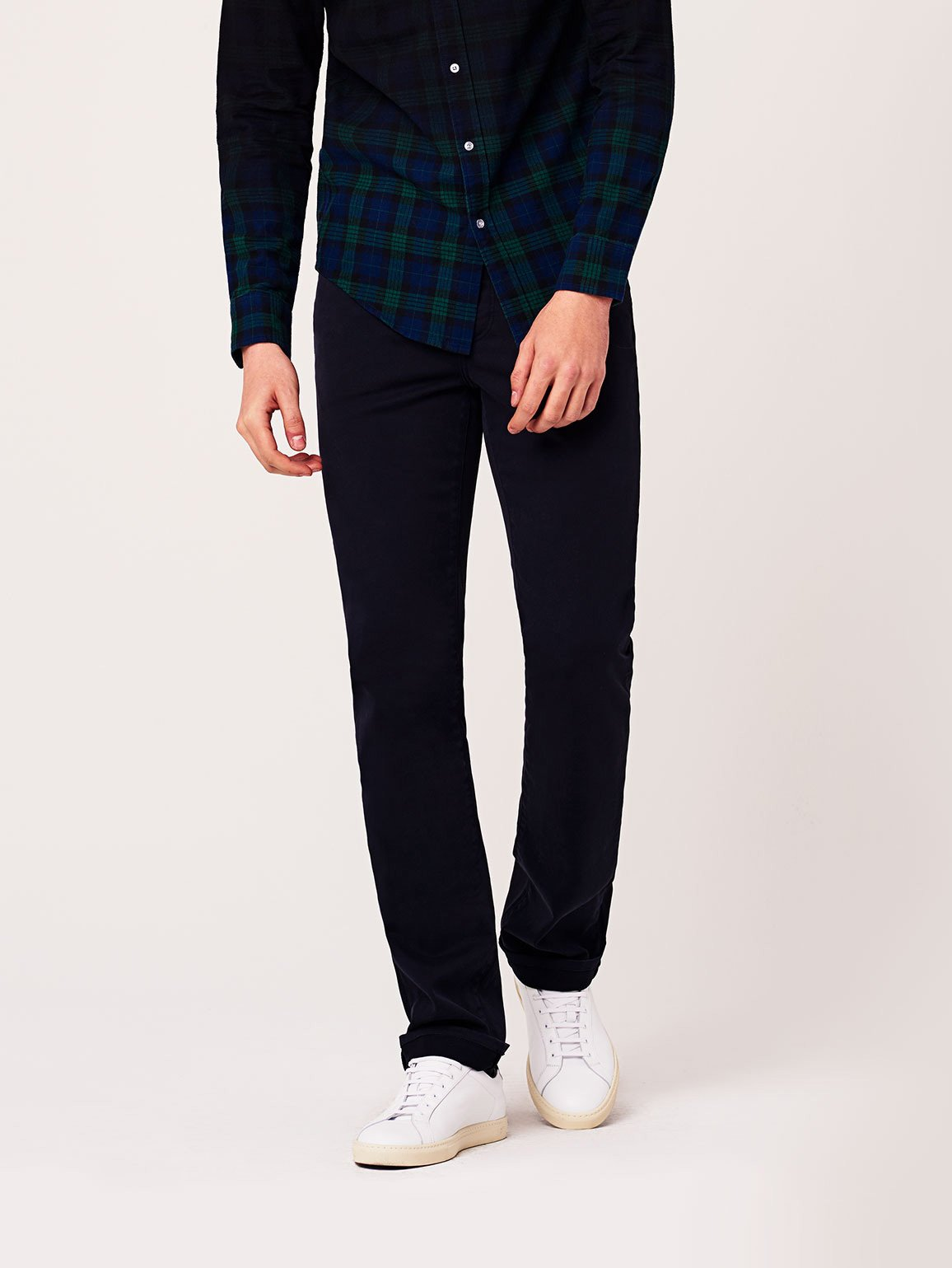 Men - Dark Navy Denim - Avery Modern Straight Coast - DL1961