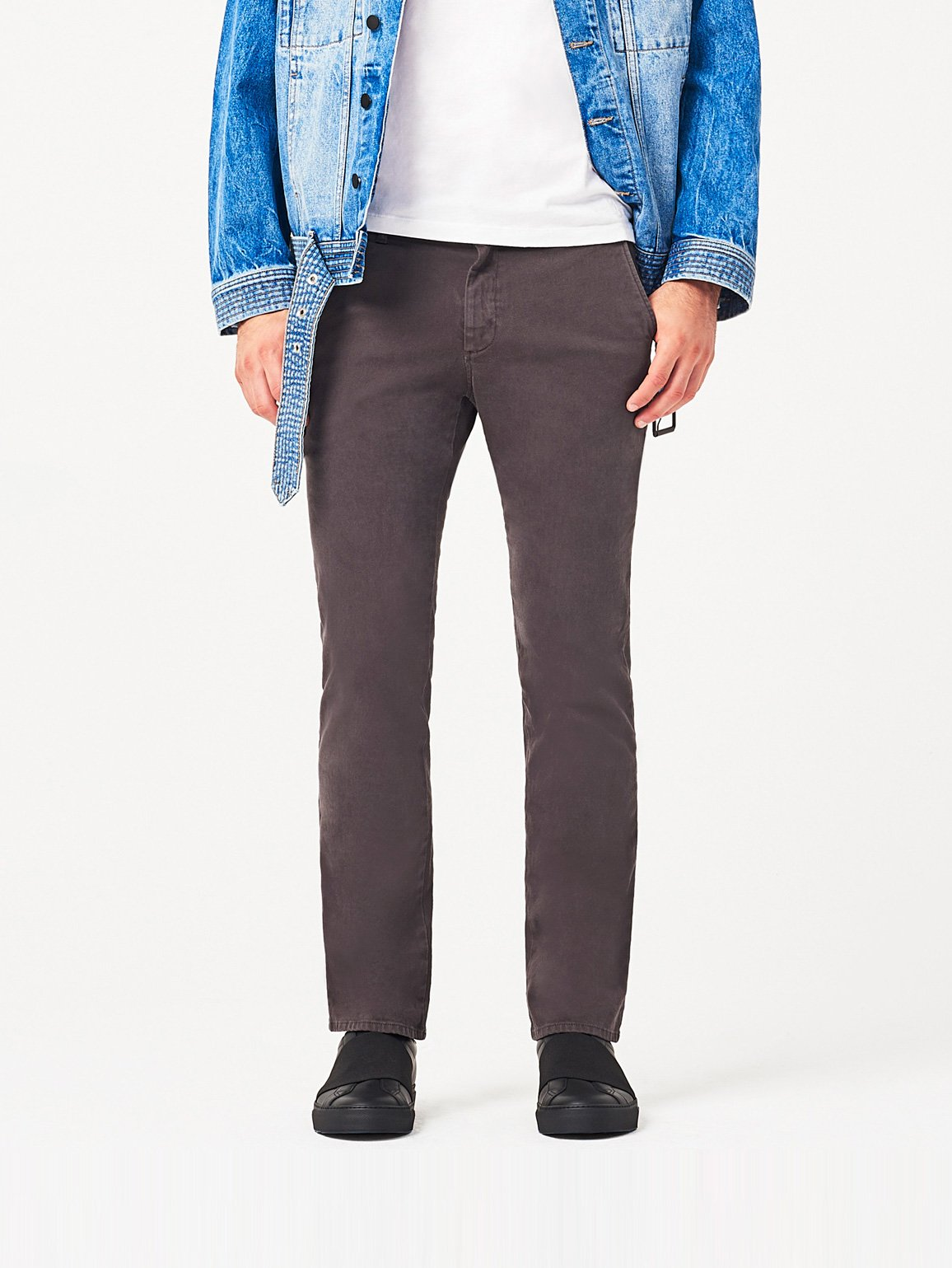 Men - Duke Slim Chino Mortar - DL1961