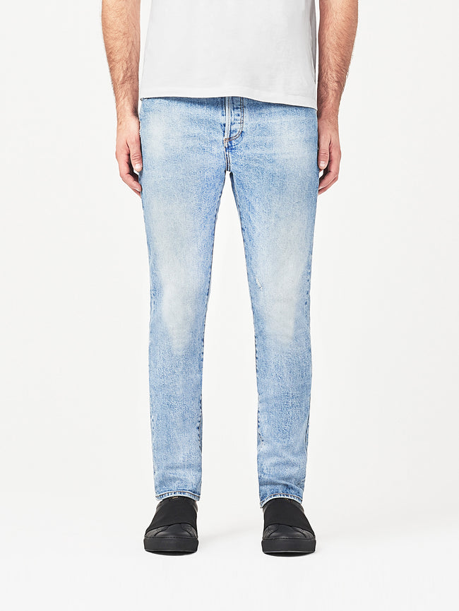 Men - Faded Light Blue Denim - Cooper Tapered Slim Breathe - DL1961