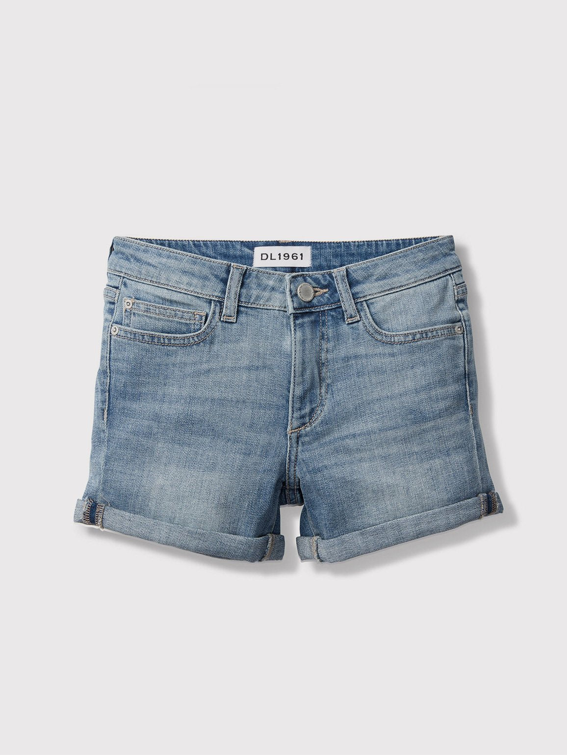 Girls - Piper/G Cuffed Short Granola - DL1961