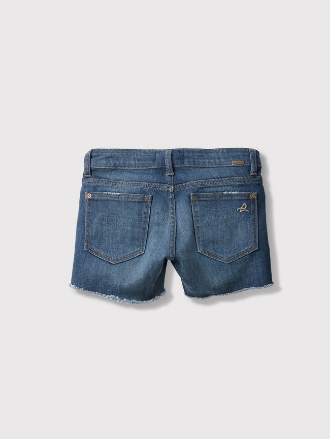 Girls - Distressed Blue Denim Shorts - Lucy/G Short Orbit - DL1961