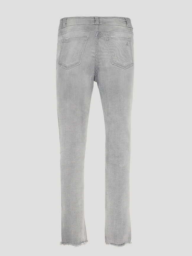 Girls - Light Grey Skinny Denim - Chloe/G Skinny Howl - DL1961