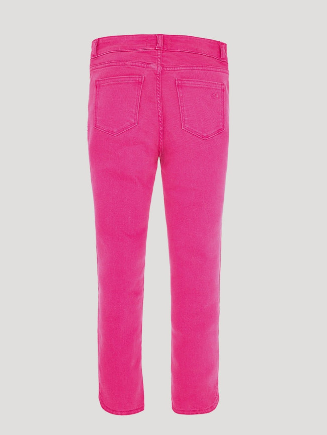 Girls - Bright Pink Straight Denim - Willow/G Bardot Blossom - DL1961