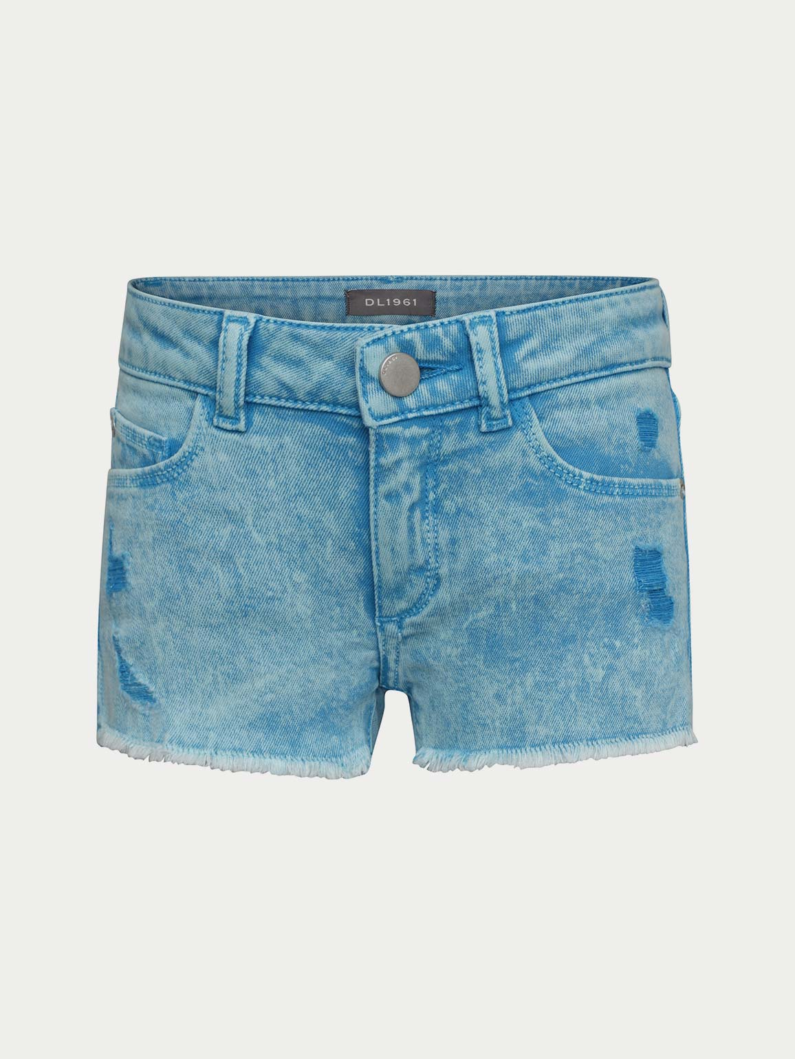 Lucy Cut Off Short / Electric Blue