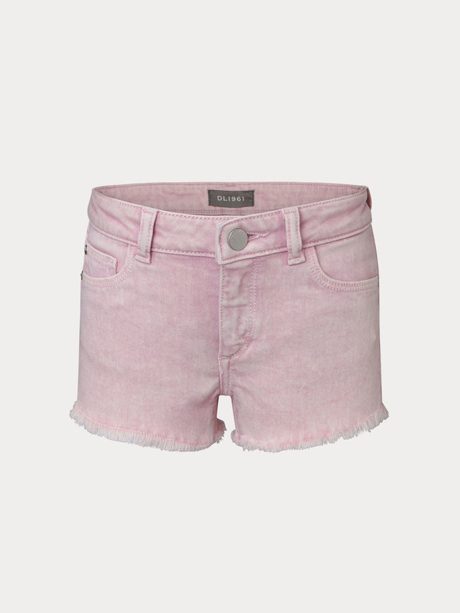 Lucy Cut Off Short | Boulevard Pink